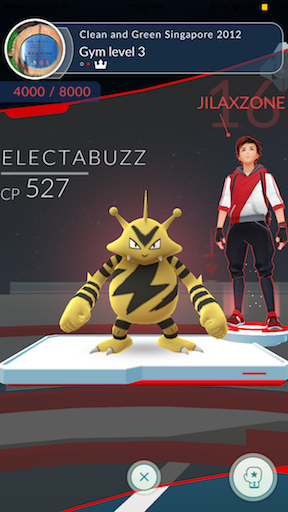 Pokemon Go jilaxzone.com Poke Gym