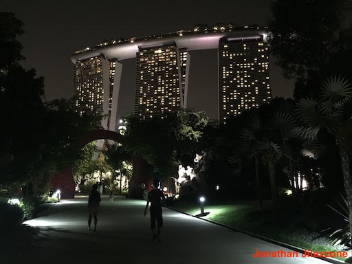 Must Visit Place in Singapore jilaxzone.com Marina Bay Sands from Gardens by the Bay