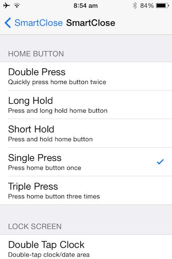 Speed Up Old iPhone Tweak jilaxzone.com Jailbreak Tweak SmartClose iPhone VM Combine with Home Button Single Press