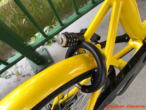 Bicycle Sharing jilaxzone.com ofo bike conventional bike lock