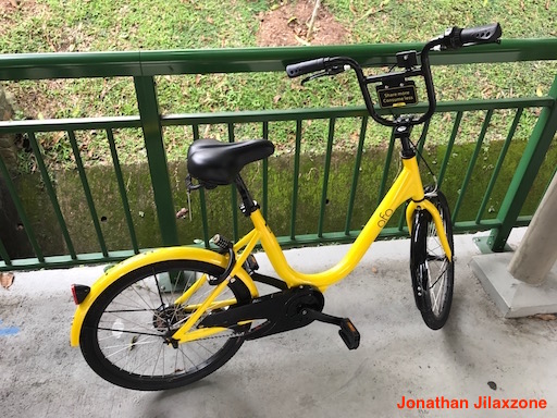 Bicycle Sharing jilaxzone.com ofo bike