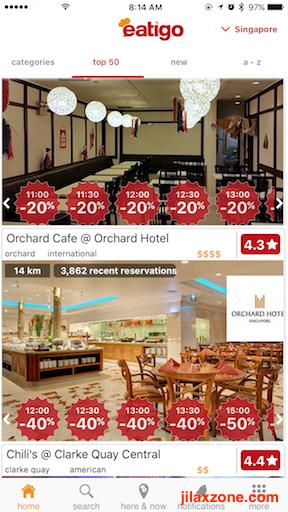 SG Tourists Must Have App jilaxzone.com Eatigo