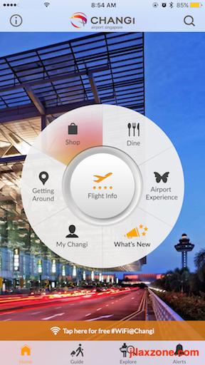 SG Tourists Must Have App jilaxzone.com iChangi
