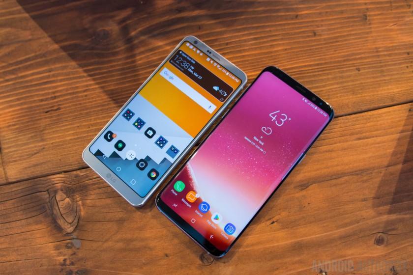 2018 smartphones trends jilaxzone.com Samsung S8 and LG G6
