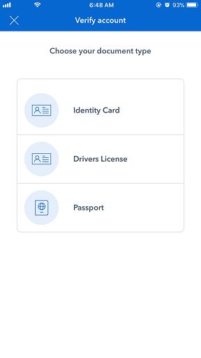 coinbase drivers license segwit2x countdown