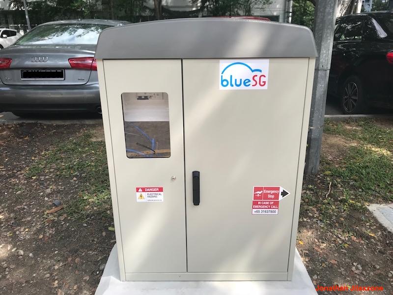 BlueSG Electric Car SG jilaxzone.com Power Box