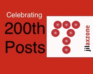 Jilaxzone.com 200th post celebrating