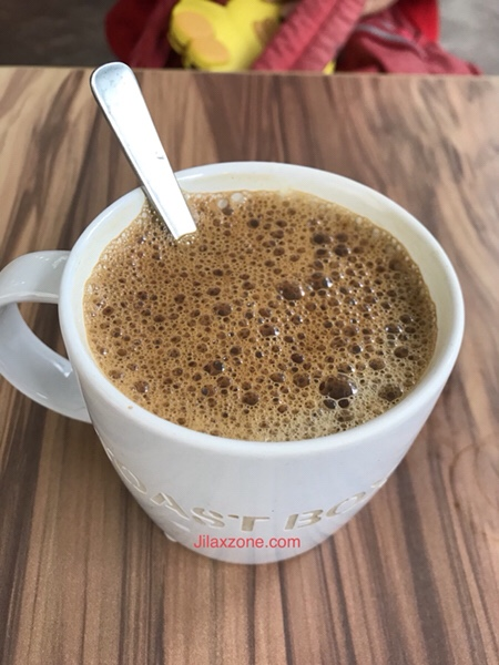 Jilaxzone.com 200th post glass of coffee