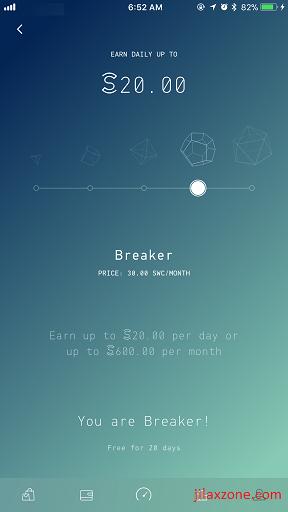Sweatcoin jilaxzone.com Breaker Level