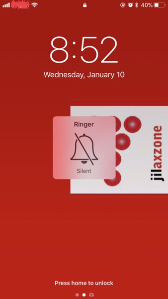 iPhone does not ring anymore Jilaxzone.com no sound