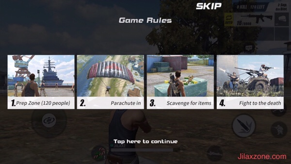 Rules of Survival Jilaxzone.com game rules no rules