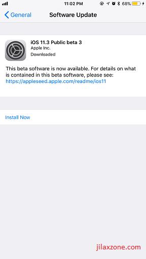 iOS 11.3 Battery Health jilaxzone.com install iOS 11.3 now