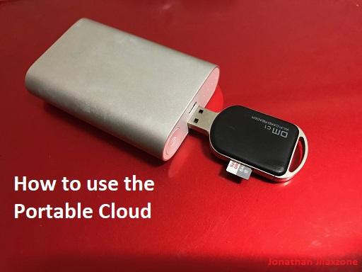 portable cloud jilaxzone.com how to use