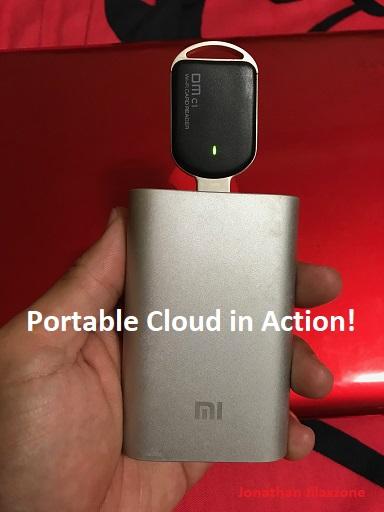 portable cloud jilaxzone.com in action