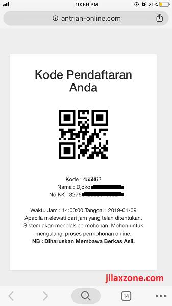 Antrian Paspor Bekasi Cetak Kode Antrian jilaxzone.com