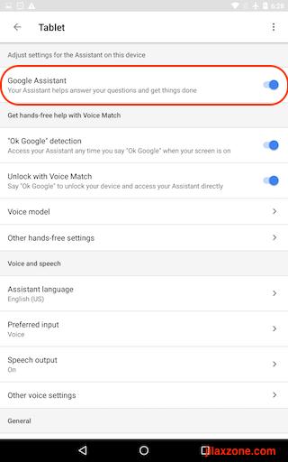 Turning Off Google Assistant jilaxzone.com