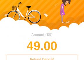 oBike How to Refund Deposit jilaxzone.com