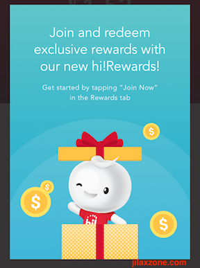 Singtel Prepaid Hi!app promotion jilaxzone.com