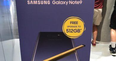 Samsung Galaxy Note 9 preorder promotion free upgrade to 512GB jilaxzone.com