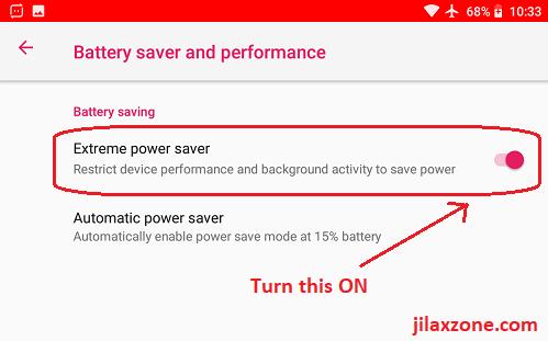 android battery saver extreme power saver jilaxzone.com