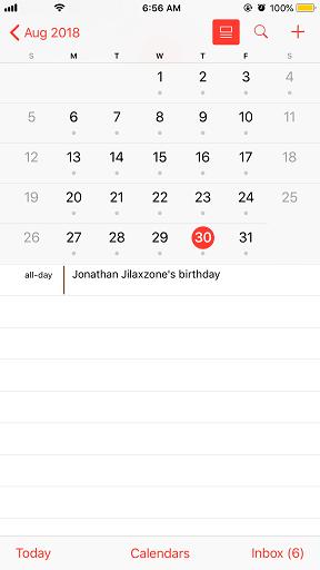 calendar 30 august 2018 my 32nd birthday jilaxzone.com
