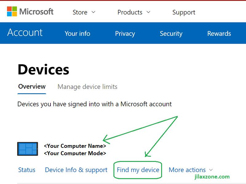 windows find my device on the web jilaxzone.com