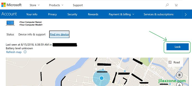windows find my device precise location jilaxzone.com