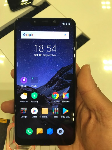Comex 2018 jilaxzone.com Singapore Xiaomi Pocophone F1