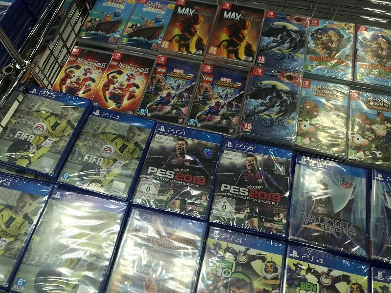 Comex 2018 jilaxzone.com console games discounts