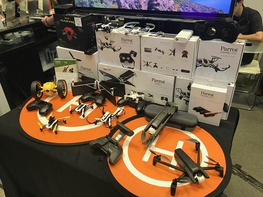 Comex 2018 jilaxzone.com parrot drones collections