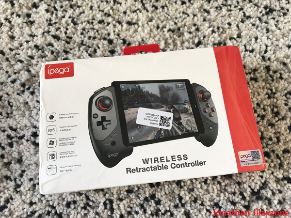 Nintendo Switch DIY jilaxzone.com Retractable Bluetooth Controller
