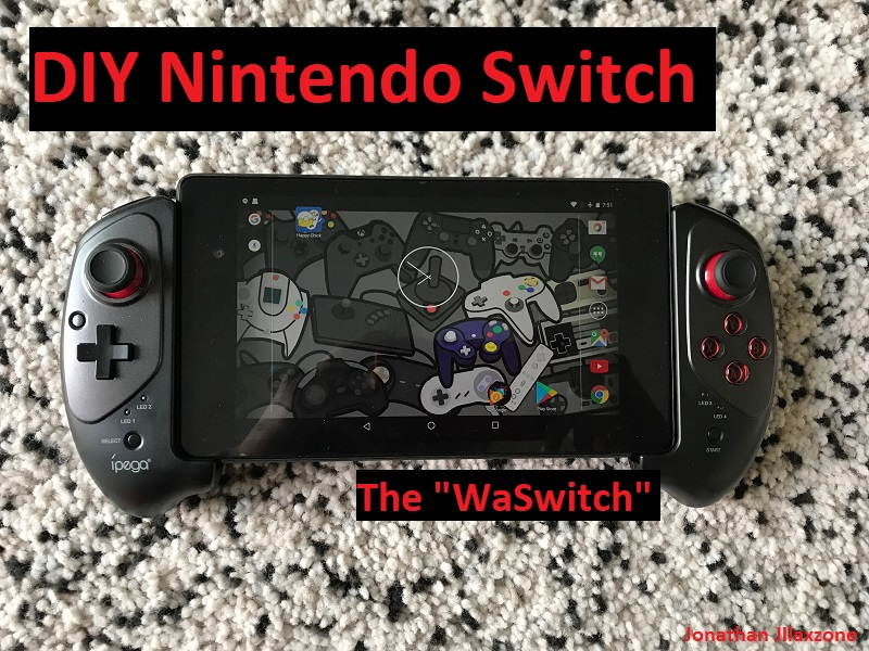 Nintendo Switch DIY jilaxzone.com the WaSwitch