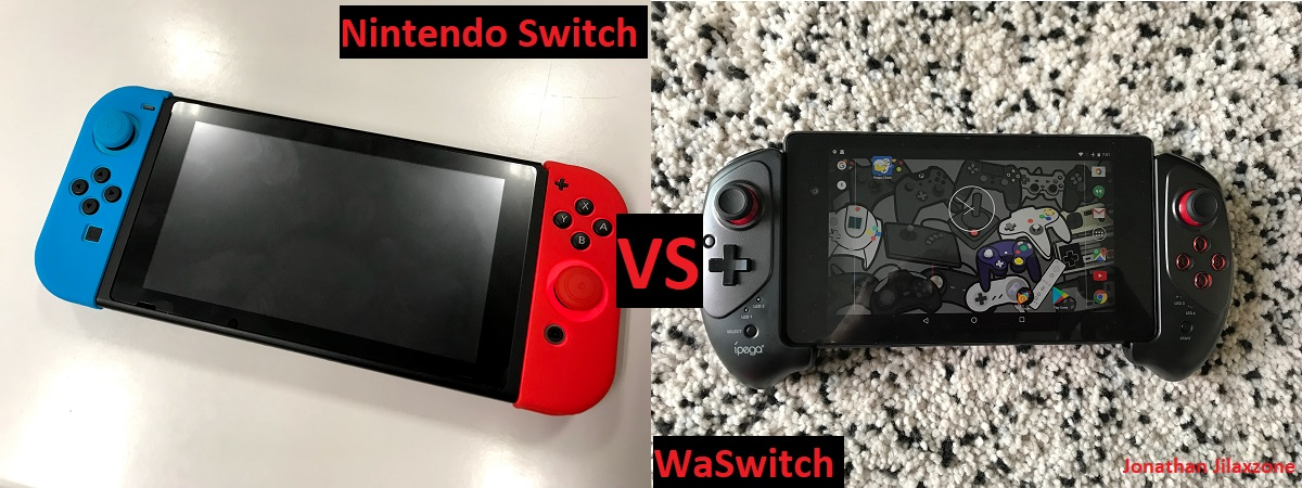 Nintendo Switch vs the WaSwitch jilaxzone.com
