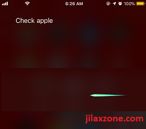 iOS 12 Siri Shortcuts invoking siri to check apple jilaxzone.com