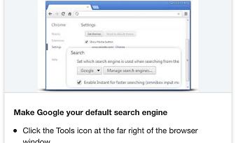 Change Default Search Engine iOS - Google