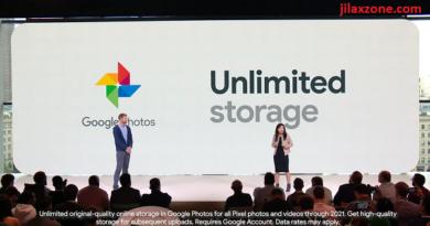 Google Pixel 3 unlimited storage on Google Photos jilaxzone.com