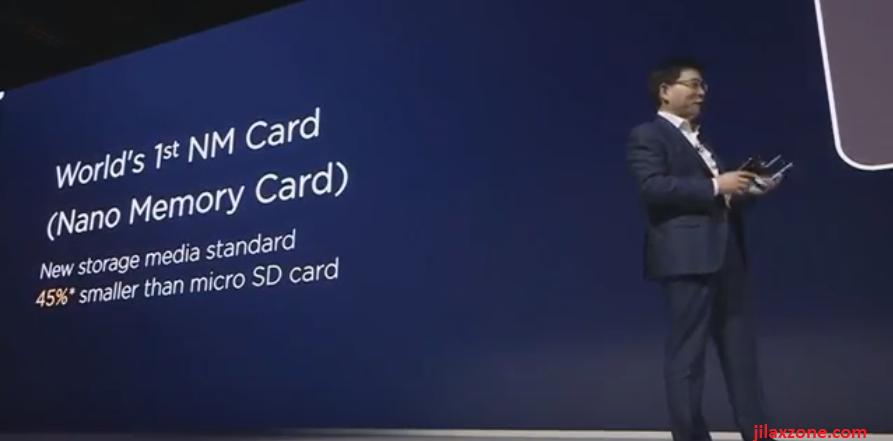 Nano Memory Card NM Card NanoSD card 45 percent smaller than microsd card jilaxzone.com