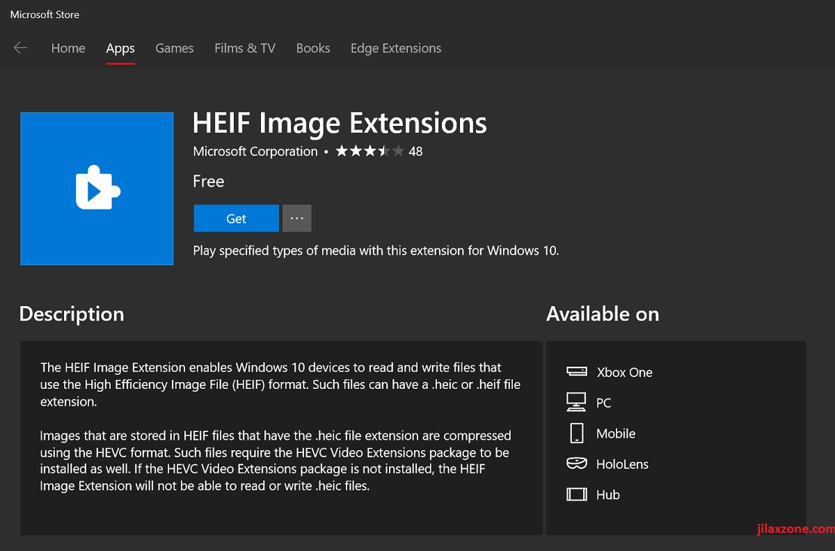 iphone heic codecs for windows at microsoft store jilaxzone.com