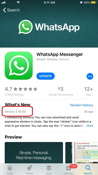 updates now appear on iphone android jilaxzone.com