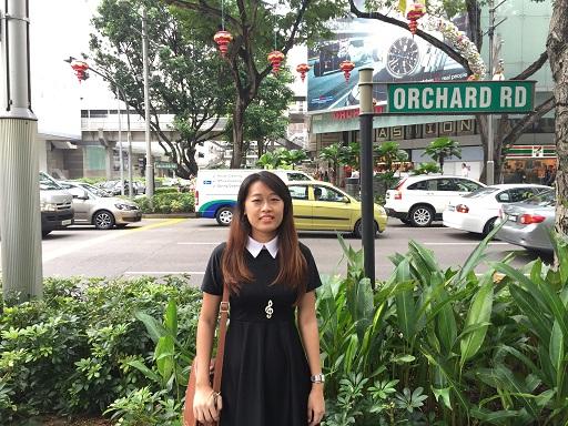 Orchard Road Singapore Street Sign jilaxzone.com