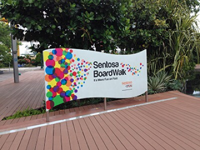 Sentosa Broadwalk, bridging Vivocity and Sentosa Island jilaxzone.com