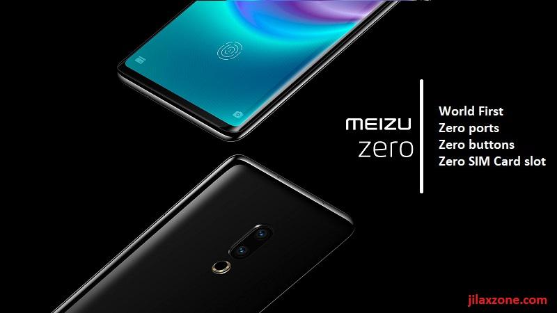 Meizu Zero world first zero ports zero buttons zero simcard slot phone jilaxzone.com 2