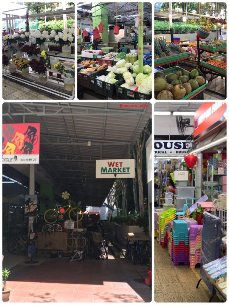 Punggol Wet Market look and feel jilaxzone.com