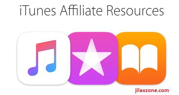Apple iTunes Affiliate Resources logo jilaxzone.com