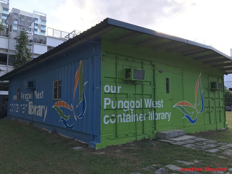 Punggol West Container Library jilaxzone.com