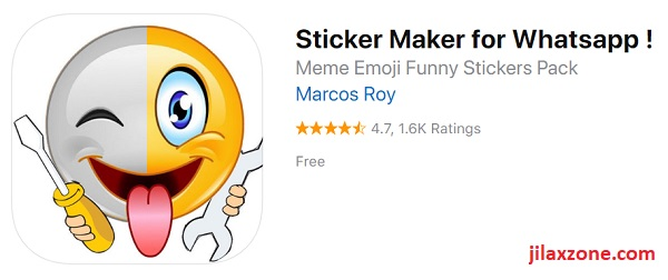 WhatsApp Sticker Maker for Android by Marcos Roy jilaxzone