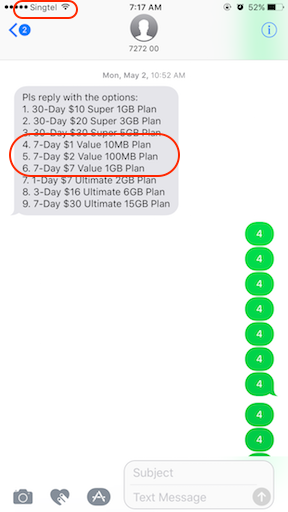Cheapest Data Plan in Singapore jilaxzone.com Singtel