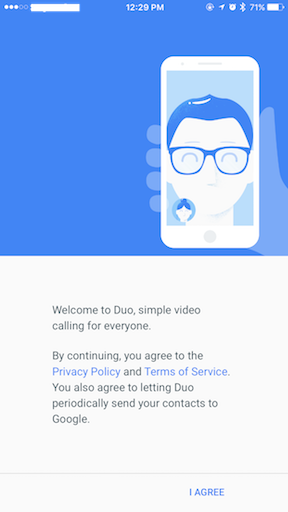 Google Duo jilaxzone.com welcome to duo