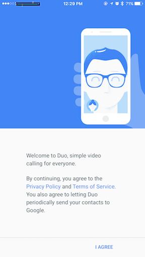 Google Duo jilaxzone.com welcome to duo