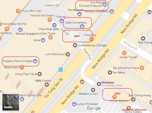 Must Visit Place in Singapore jilaxzone.com Cash Converter Chinatown